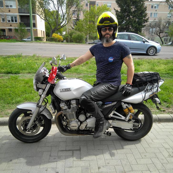 Április - az utolsó tréning Rendőr Janinál