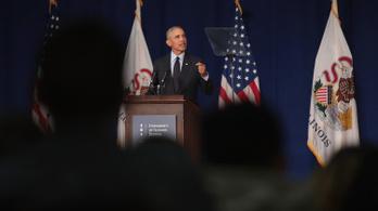 Obama beszállt a kampányba, bírálta Trumpot