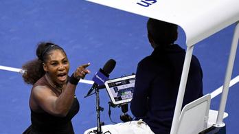 Oszaka hatalmasat játszott, Williams a székbíróval vitázott a US Open-döntőben