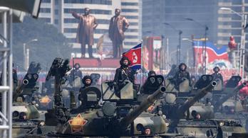 Valamiben nagyon különbözött az idei észak-koreai katonai parádé