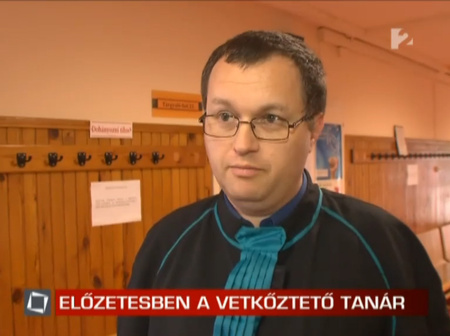 Gerencsér Ferenc a TV2-nek nyilatkozik