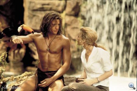 Brendan Fraser a George Of The Jungle című filmben