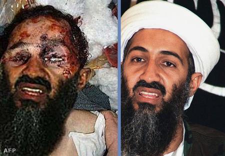 A halott Bin Ladenről már évekkel ezelőtt megjelent egy hamisított kép (mellette a felhaszált eredeti)