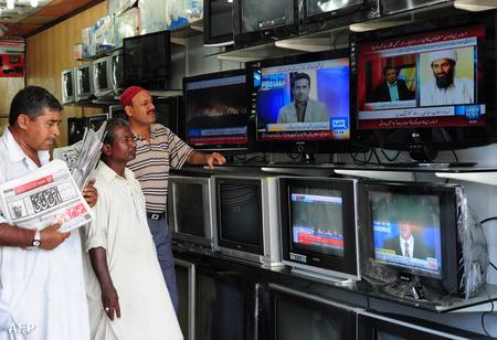 bin Laden halálhíre a sajtóban