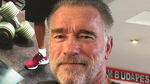 Arnold Schwarzenegger megnézte a Balatont, bort kóstolt és lecsót evett