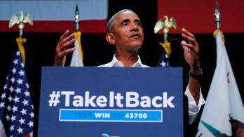 Obama megint ekézte Trump elnökségét