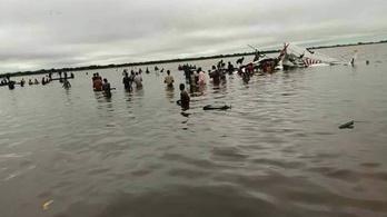 Lezuhant egy repülő Dél-Szudánban, legalább 17-en meghaltak