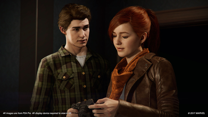 Spider-Man PS4 PGW Pete and MJ