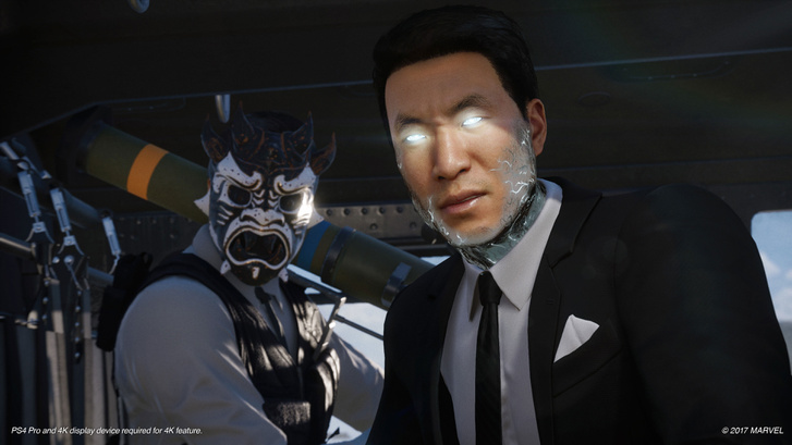 Spider-Man PS4 E3 2017 Li