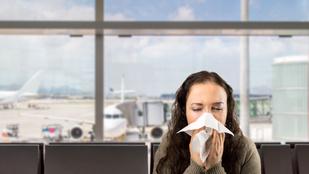 Itt kaphatod el a legtöbb fertőzést a reptereken