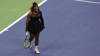 17 ezer dolláros büntetést kapott Serena Williams