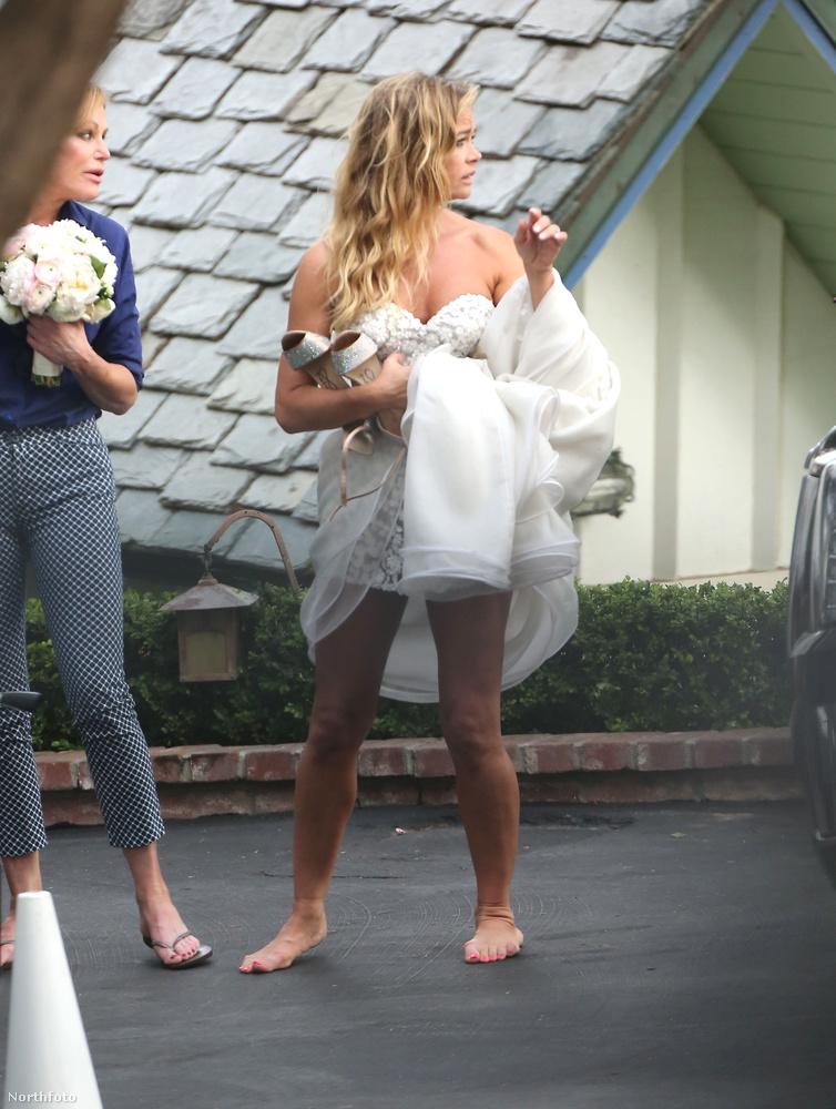Az esküvőt majd a tévében is meg lehet nézni, mivel Richards új szereplőként ezzel fog nagyot villantani a Beverly Hills-i Luxusfeleségek 9