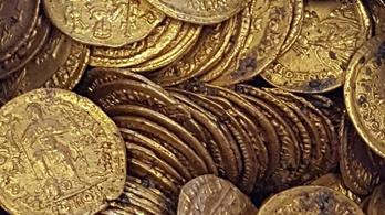 Ókori aranykincset találtak Comóban