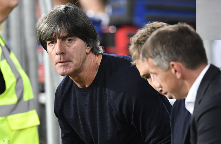 Joachim Löw a Németország - Peru barátságos mérkőzésen 2018.09.09.