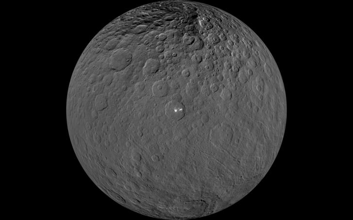 A Ceres nagy felbontású képe (Wikipedia)