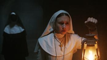 Megteltek a mozik a rémisztő apáca miatt