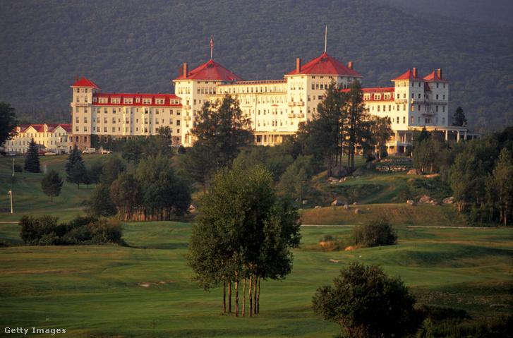 Bretton Woods Mount Washington Hotel, ahol a konferenciát tartották 1944. július 1–22 között