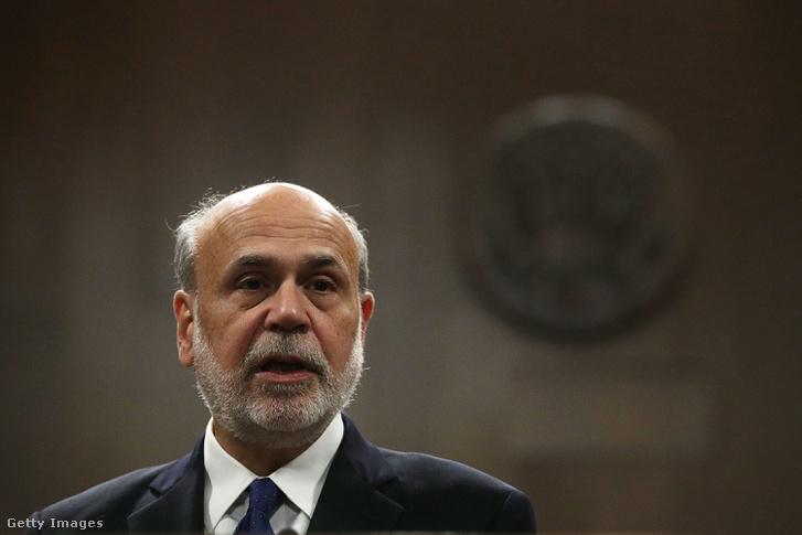 Ben Bernanke Capitol Hillben, Washington, 2017.11.07.