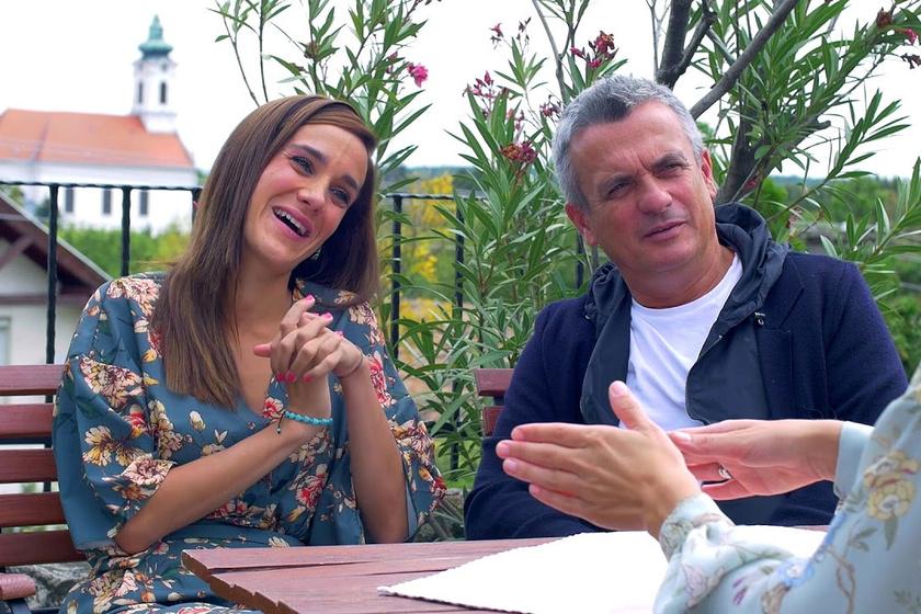 Rókusfalvy Pál és lánya, Rókusfalvy Lili.