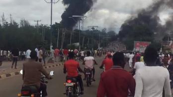 Legalább 35 halott egy nigériai robbanásban