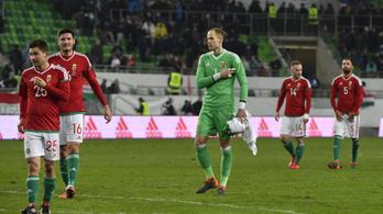 Üres stadionban küzd idei első győzelméért a magyar válogatott