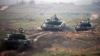 A második világháború óta nem mozgattak meg ekkora erőt az oroszok