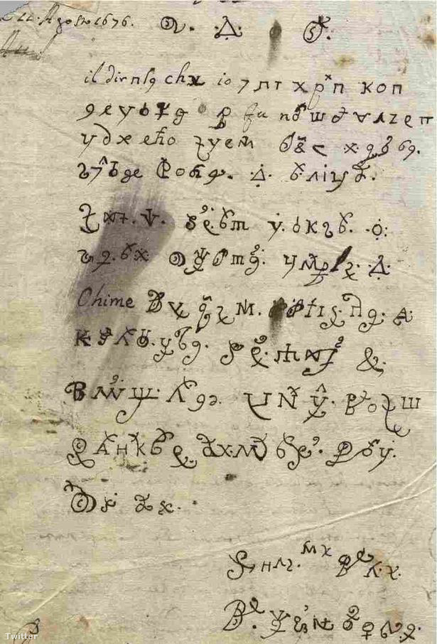 Maria nővér levele.