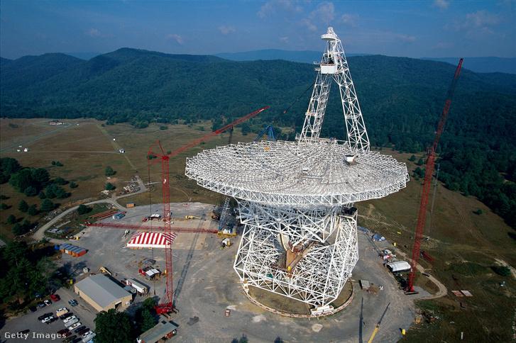 A Green Bank Teleszkóp