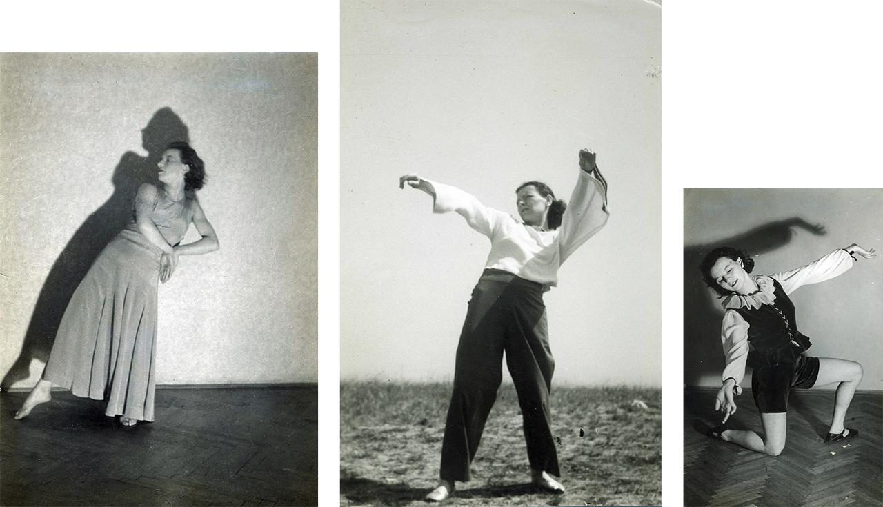 """Utolsó táncát, a Búcsút barokk dallamokra komponálta két héttel halála előtt. Életben volt, amikor már német megszállók ültek a varsói operában, ahol egykor neki tapsolt a közönség. Nem törődött vele, Vas a két zsidótörvény szorításában annál inkább. Közös öngyilkosságra akarta rávenni Etit, aki konokul és dühödten ellenállt, így végül az egy próbálkozáson már túlesett Vas is lemondott a gondolatról. """"Ha visszagondoltam halálos esélyemnek arra a groteszk elfuserálására, semmiképpen sem remélhettem, hogy egy tiszteséges öngyilkosságot nyélbe tudnék ütni Eti szakértelme nélkül""""– írta. A """"halálra és halálra menő huzakodásnak"""" végül Eti 1939 őszén vetett véget. A ravatalon volt az utolsó fellépése, """"mintha csak a nyugalmat és mozdulatlanságot is el akarta volna táncolni egyszer."""""""
