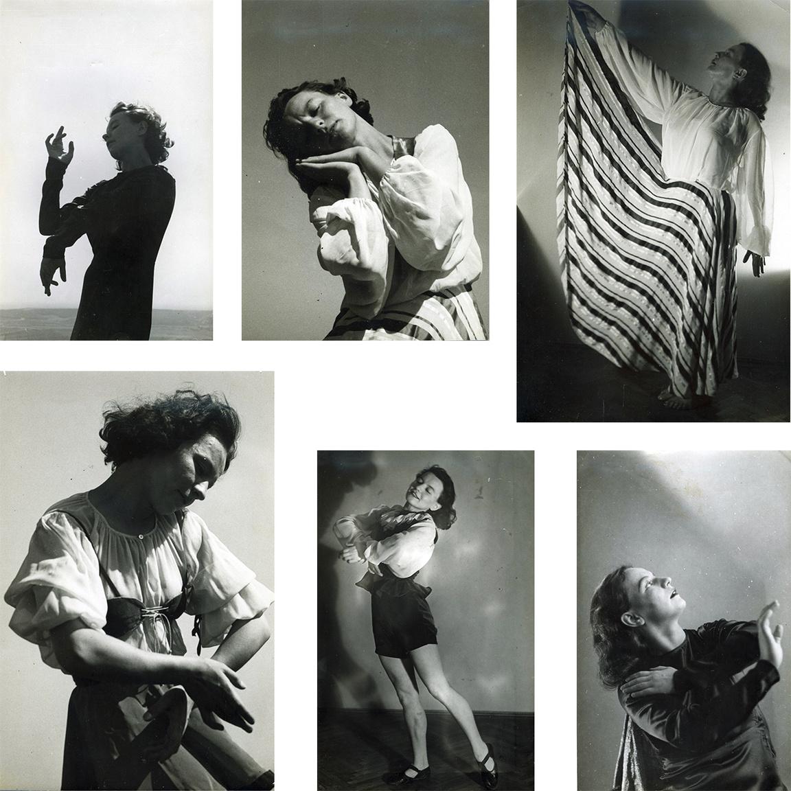 Nagy Etel Pozsonyban, Bécsben és Budapesten tanult tánc-és mozdulatművészetet, mielőtt saját iskoláját megnyitotta. Régi paraszti táncokból kiindulva hozta létre kortárs koreográfiáit.