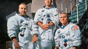Az Apollo 8 parancsnoka allergiás volt az űrre