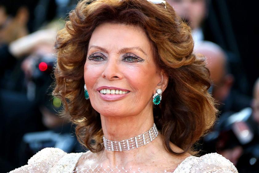 Fantasztikusan néz ki Sophia Loren - Az olasz díva ma 84 éves