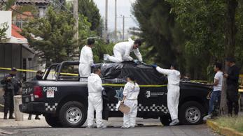 Egy év alatt 175 politikust öltek meg Mexikóban