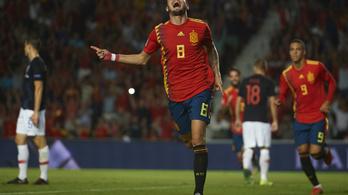 A spanyolok tönkreverték a vb-ezüstérmest