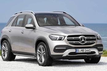 Megjött az új Mercedes luxusterepjáró