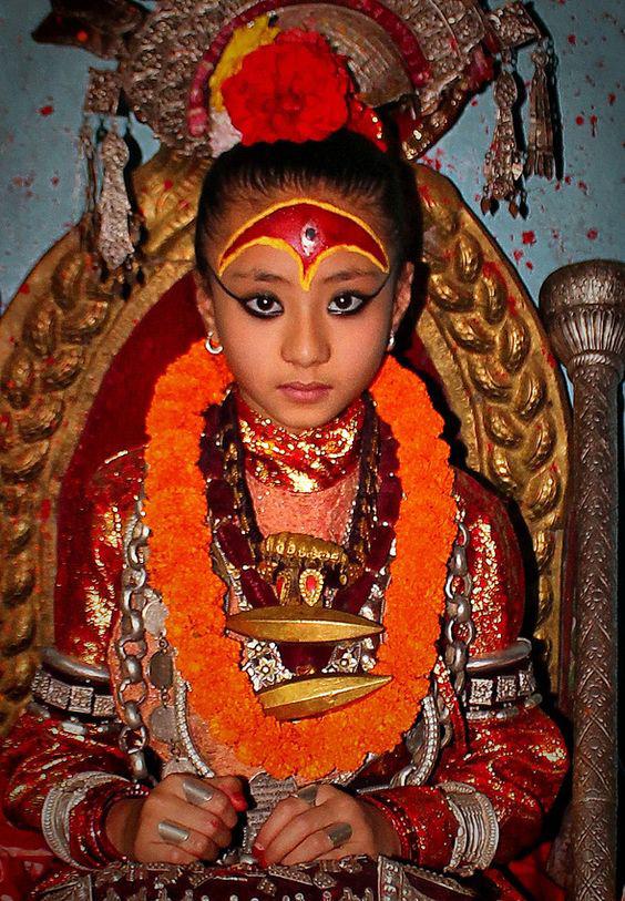 kumari nepál istennő 3