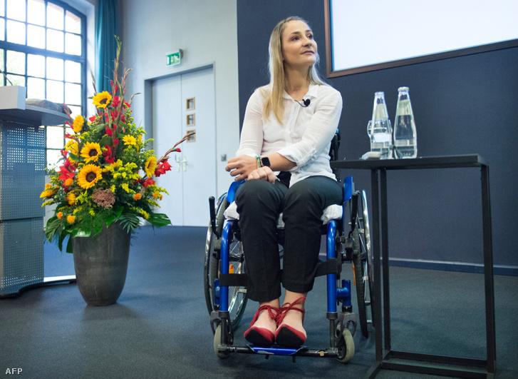 Kristina Vogel 2018. szeptember 12-én