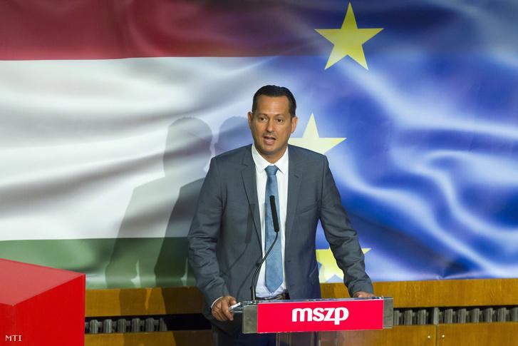 Molnár Zsolt az MSZP budapesti elnöke