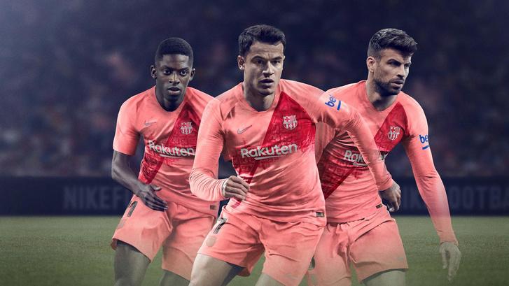 A Barca új harmadik szerelése