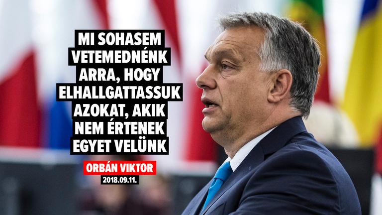 Tényleg távol áll a magyar kormánytól az elhallgattatás és a kioktatás?