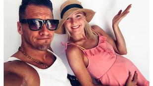 Vastag Csaba összeköltözött Barátok köztös szerelmével, akiről az a hír járja, hogy terhes