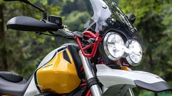 Káprázik a szemem a Moto Guzzi V85 TT-től