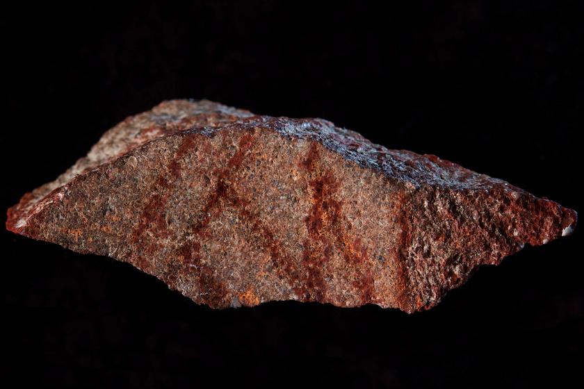 Ez lehetett az első emberi rajz: vicces, mit ábrázol a 79 ezer éves lelet