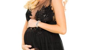 Vasvári Vivien ismét gyereket vár