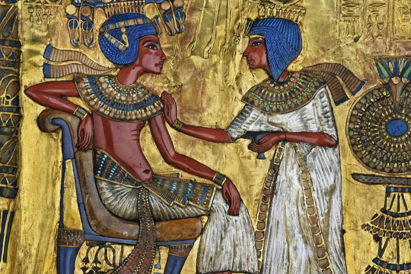 Íme, Tutanhamon családja: feltételezett lányait is megtalálták sírjában