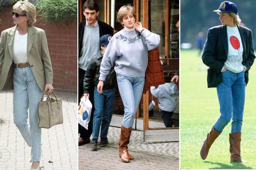 Diana hercegnő aztán tényleg tudta hordani a farmert - Még ma is tanulhatnánk tőle