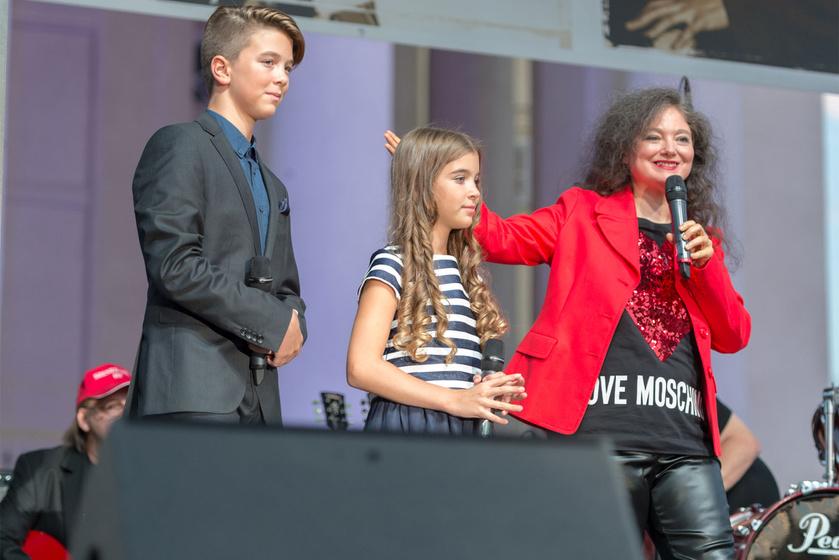 Aradszky Marci, Olívia és Szenes Andrea.