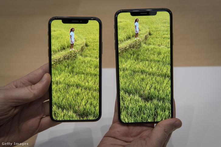 iPhone Xs és iPhone Xs Max