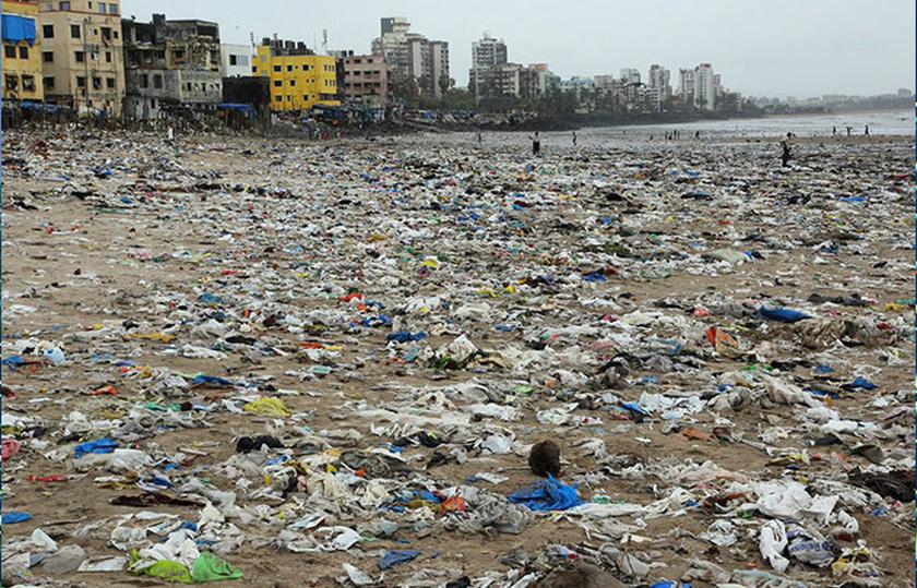 Három évbe telt, mire indiai önkéntesek fáradhatatlan munkával megtisztították a Versova nevű partszakaszt az azt borító szeméttől.