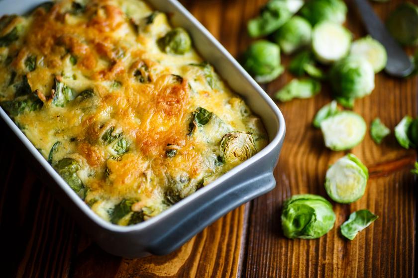 Ropogós, sajtszószban sült kelbimbó: isteni köret krumpli helyett